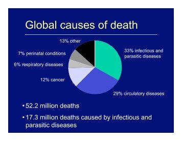 Global causes of death - Harvard University