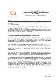 Avis UT de Troyes - Commission des Titres d'Ingénieur