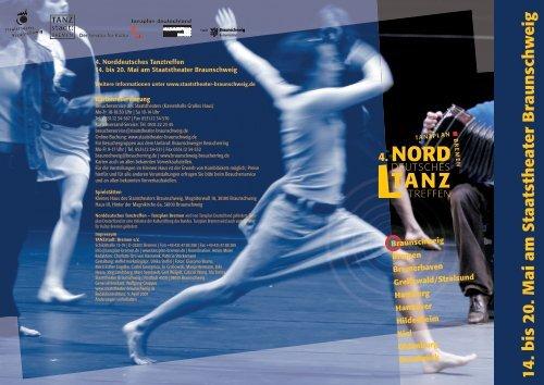 1 4. bis 20. Mai am Staatstheater Braunschweig - TANZstadt: Bremen