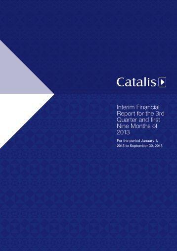 download interim report here - Catalis SE