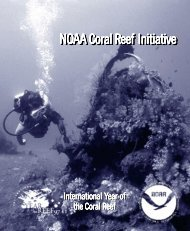 coral reef - NOAA Office of Public and Constituent Affairs