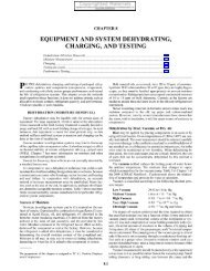 equipment and system dehydrating, charging, and testing