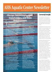 Pool Newsletter Final 103008 - Albany Unified School District