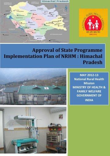 ROP Booklet - National Rural Health Mission Program ...