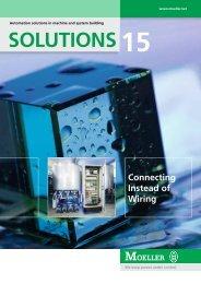 SOLUTIONS15 SOLUTIONS - Moeller
