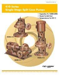 410 Series Single-Stage Split Case Pumps - BBC Pump and ...