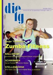 Zumba-Fitness Zumba-Fitness - TG Tuttlingen