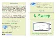 K-Sweep - Cinak