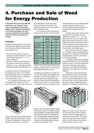 Chapter 4 - Purchase and Sale of Wood for Energy Production
