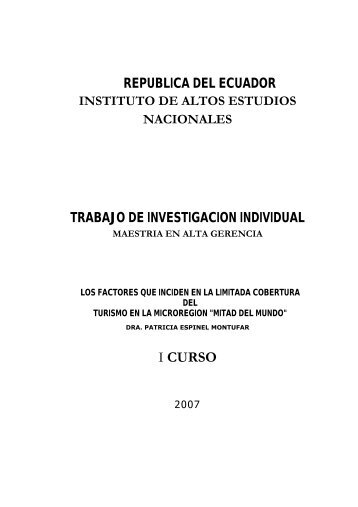 TESIS-PATRICIA ESPINEL.pdf - Repositorio Digital IAEN - Instituto ...