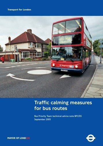 Traffic Calming Measures - Transport for London
