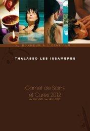 Carnet de Soins et Cures 2012 - Thalasso les Issambres