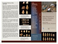 Brochure 1 - Society for American Archaeology