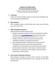 PDF, Unknown - Media Center Kendedes - Pemerintah Kota Malang