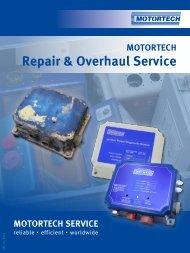 Repair & Overhaul Service - Motortech GmbH
