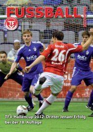 TFV-Hallencup 2012 - Thüringer Fußball-Verband