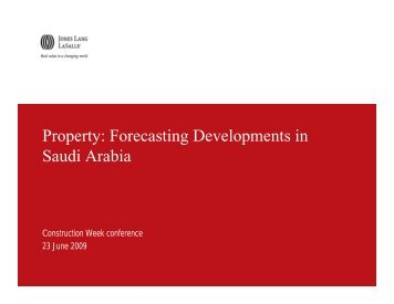 Forecasting Developments in Saudi Arabia - ITP.net