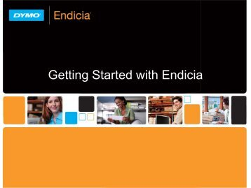 Getting Started with Endicia