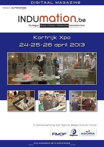 Kortrijk Xpo 24-25-26 april 2013 - Fimop