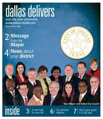 Message Mayor News about your district - City of Dallas
