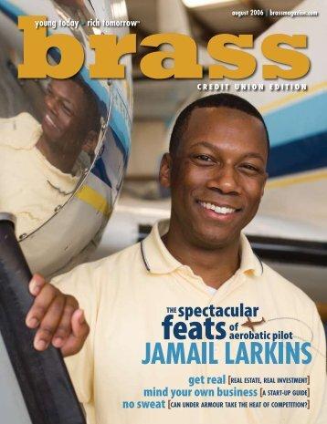 The Spectacular Feats of Jamail Larkins