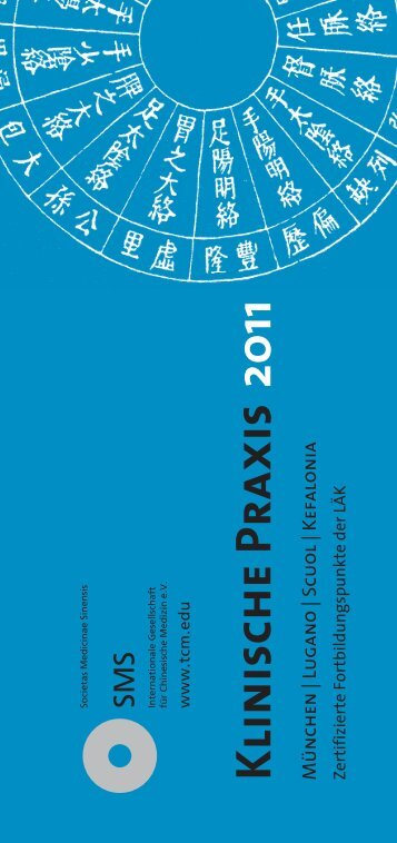 Klinische Praxis - SMS Internationale Gesellschaft für Chinesische ...