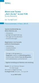 Klinische Praxis - SMS Internationale Gesellschaft für Chinesische ... - Seite 3