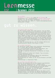 Anmeldeformular der ESF-Lernmesse Bremen 2013 (pdf)