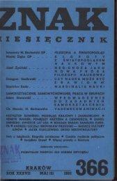 Nr 366, maj 1985 - Znak