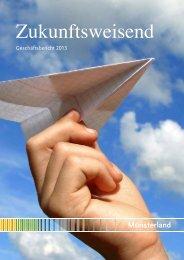 Geschäftsbericht 2011 (PDF-Datei, ca. 1,9 MB) - Münsterland eV