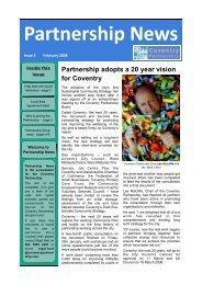 Partnership News - Coventry Partnership