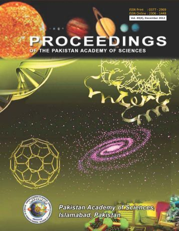 Download Full Journal - Pakistan Academy of Sciences