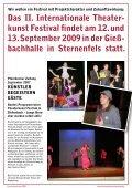 Festivalzeitung 2007 - Theaterkunst Festival - Seite 3