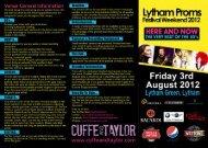 Campbell Concert leaflet - Visit Lancashire