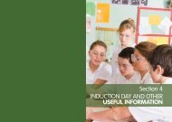 Section 4 INDUCTION DAY AND OTHER USEFUL INFORMATION