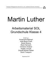 Arbeitsmaterial zum Download - Impuls Reformation
