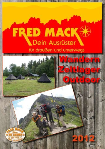 Katalog 2012 - Outdoor Heilbronn Shop