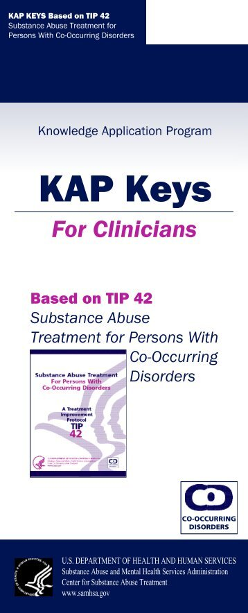TIP 42: Substance Abuse Treatment for Persons With Co-Occurring ...