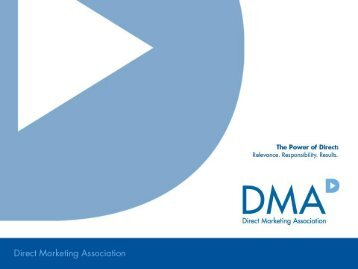 B-to-B Email Lead Generation - Direct Marketing Association