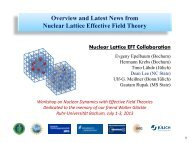 Overview and Latest News from Nuclear Lattice Effective Field Theory
