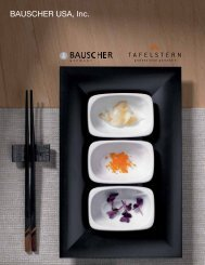 Bauscher USA Catalog 1 - The Action Group