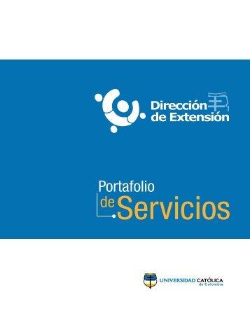 Portafolio - Universidad Catolica de Colombia