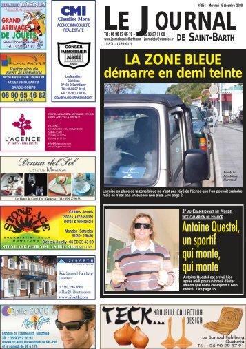 854 - Journal de Saint Barth