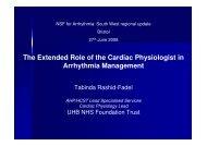 The Extended Role of the Cardiac Physiologist in Arrhythmia ...