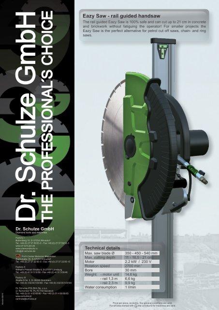 T H E P R O F E S S IO N A L S C H O IC E - Dr. Schulze GmbH