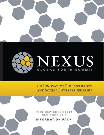PROGRAM - Nexus: Global Youth Summit