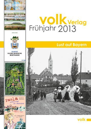 Frühjahr 2013 - Volk Verlag
