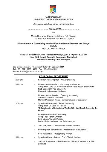 Warga UKM…… - Sistem e-Warga - Universiti Kebangsaan Malaysia