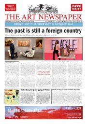The past is still a foreign country - The Art Newspaper