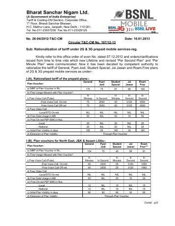 2G 3G tariff rationalisation 16-01-2013.pdf - snea